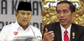 Prabowo Unggul di 1 Lembaga Survei, Jokowi Unggul di Berbagai Lembaga Survey