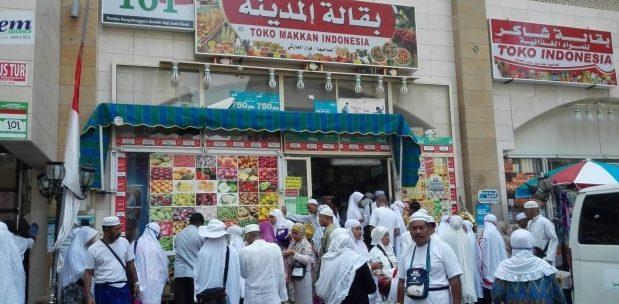 Ternyata Toko Indonesia Hadir di Makkah, Arab Saudi